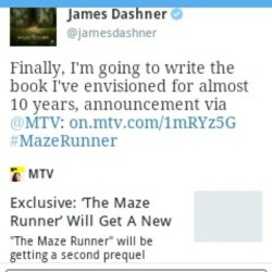 Préquel 2 : The Fever Code | The Maze Runner Fans